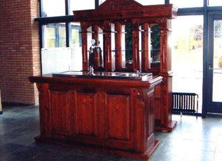 Luxe bruine bar