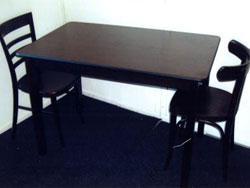 Cafétafel bruin stoel Parijs - stoel Weener
