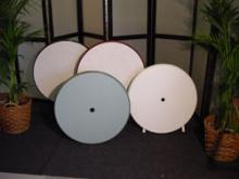 Terrastafel kunstof 85cm Rond - diverse kleuren