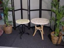 Rotantafel model parijs rond 60 cm, Rotantafel rond 85cm