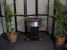 Barbeque pan, afmeting bakpan 100cm rond